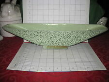 Large SHAWNEE Centerpiece Mantle Chantilly Lace Pale Green Mottled Glaze Lovely