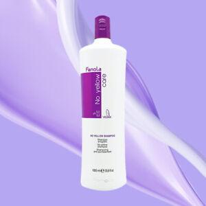 Fanola No Yellow Purple Silver Blonde Hair Shampoo 1000ml