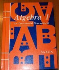 Algebra 1  - by Saxon