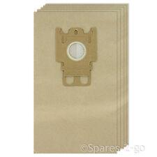 5 x Gn Tipo Sacchetti Di Carta Per Miele Complete c2 c3 Powerline Ecoline Aspirapolvere Silence