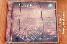 Thierry Escaich - Oeuvres Orgue & Voix - Motets - Boitier neuf - CD Calliope