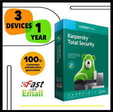 Kaspersky Total Security Antivirus 2020 - 3 PC Device 1 YEAR - GLOBAL KEY