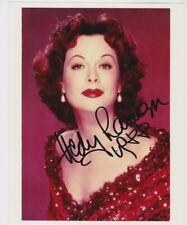 L-HEDY LAMARR Autographed Color Photo W/COA
