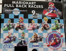 TOMY GATCHA MARIO KART WII PULL BACK RACER RANDOMLY SELECTED