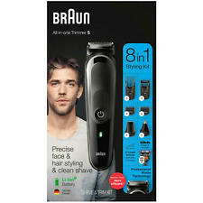 Brand New! Braun MGK5260 8-in-1 Hair Clipper and Beard Trimmer ~ Free Shipping