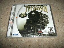 RAILROAD TYCOON II - GOLD EDITION - Sega Dreamcast (NTSC/U) NEW & SEALED (US)