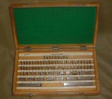 Hdt Machinist Gauge Block Complete Set 81 Pieces Workshop Grade B 000050