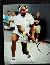 New listing .  8 X10 COLOR PHOTO OF- V. WILLIAMS   -TENNIS