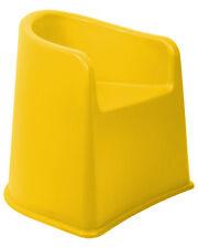 Kinderstuhl mit Armlehne Armlehnenstuhl Stuhl Kindersitz sicherer Stand gelb