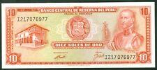 TWN - PERU 100b1 - 10 Soles 16/10/1970 AU/UNC