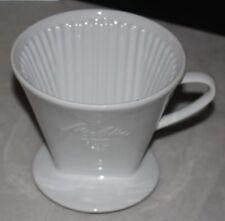 Melitta Kaffeefilter 103 weisse Schrift 1-Loch Porzellan Filter (11)