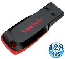 SANDISK CRUZER BLADE 128GB 128G USB Flash Pen Key Thumb Drive Disk Memory Stick