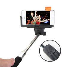 Bluetooth Shutter Extendable Handheld Selfie Stick Monopod for Samsung iPhone