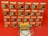 Lot of 24 OEM Engine Oil Filter-Extra Guard Fram CH8765 FOR GM VEHICLES