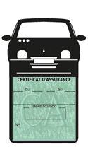Support vignette assurance Renault Twingo accessoire voiture Stickers auto rétro