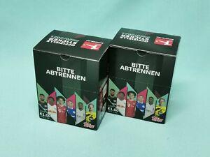 Topps Bundesliga Sticker 2020/2021 2 x Display / 72 Tüten 20/21