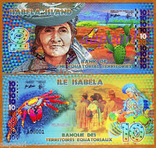 ISABELA ISLAND Banknotes Collections 2014edition brand new Uncirculated 1pcs