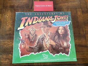 TSR Indiana Jones Adventures of Indiana Jones Miniatures Sealed New! (5373)
