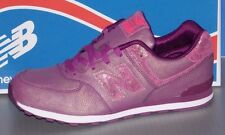 Girls New Balance Kl 574 M7G in colors Purple Size 6.5