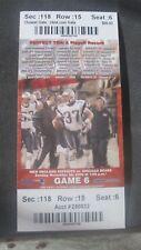 NFL-N.E. PATRIOTS V. DETROIT LIONS-12/3/2006 FULL TICKET-BRADY WINS #77