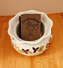 "Self Watering Ceramic Flower Pot/Planter - Planting Area 2"" x 3 1/2"""