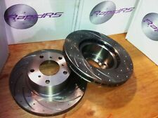 Slotted Front Disc Brake Rotors to suit  Mazda RX8 Sports 323mm 7/2003 -2012 UPG