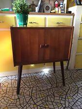 vintage Retro Wooden Mid Century sideboard vinyl LP record cabinet/storage unit
