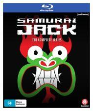 Samurai Jack The Complete Series Blu Ray - New - Region B for UK - Cartoon Anime