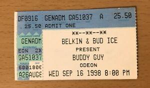 1998 BUDDY GUY ODEON CLEVELAND CONCERT TICKET STUB  STONE CRAZY