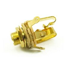"Switchcraft 1/4"" PRESA JACK STEREO GOLD"