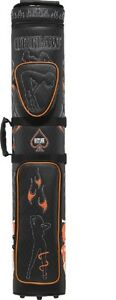 Outlaw 3x5 Pool Cue Case OLB35D Hard Stitched Ladies & Flames FREE Shipping