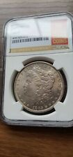 More details for 1885 $1 morgan silver dollar - ngc ms-65  stunning look