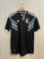 5+/5 AUTHENTIC Argentina 2018/2019 away Sz L Adidas shirt jersey football soccer