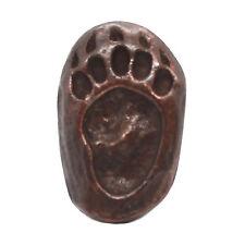 """Bear Track Right Foot Bronze Decorative Snap Cap 1-1/4"""" 1265-100"""