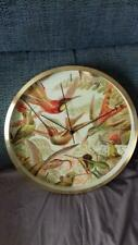 Hummingbird wall clock - BNIB