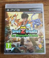 INVIZIMALS LE ROYAUME PERDU Jeu Sur Sony PS3 Playstation 3 Neuf Sous Blister VF