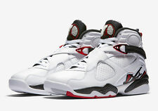 Mens Air Jordan 8 Retro 305381-104 White/Gym Red Brand New Size 11