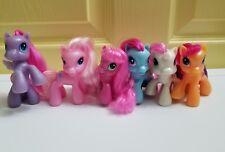 My Little Pony G3.5 McDonald's Toys Cheerilee Starsong Scootaloo Sweetie Pinkie