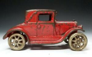 1928 ALL ORIGINAL 5 inch Arcade FORD MODEL A COUPE with RUMBLE SEAT #116