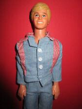 B420-Âge barbie ken MATTEL angegossenes cheveux vieux Jeans-vêtement + chaussures