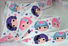 "LALALOOPSY DESIGN 1 METRE GROSGRAIN RIBBON 22mm (7/8"")"