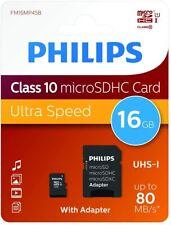 Tarjeta Memoria Philips 16gb 32gb Micro SD Class 10, Verbataim 64gb memoria USB