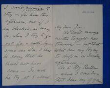 More details for william de morgan original signed autograph letter 1909 pottery tile morris & co