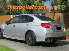 "UN-PAINTED REAR LIP SPOILER ""WRX-STYLE"" FOR 2015-2016 SUBARU IMPREZA 4DR SEDAN"