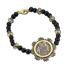 New ListingFranklin Mint El Cazador Half-Real Beaded Bracelet D4J8643
