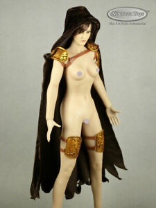 1/6 Scale Phicen, TBLeague Arhian Head Huntress Costume Set w/ Hood & Guards