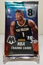 19-20 Panini Nba Mosaic Basketball Sealed Single Pack Lot Zion Ja Rc? Lebron Nip