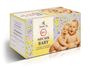 Mecsek Organic Baby Fennel Chamomile Tea Digestive Stomach Tea Soothe Colic 20