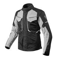 Giacca uomo moto touring turismo Rev'it Revit Safari 2 nero grigio 4 stagioni