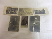 alte Postkarte Ansichtskarte PK AK Konvolut Soldaten Offiziere 1. WK 1915 /1917
